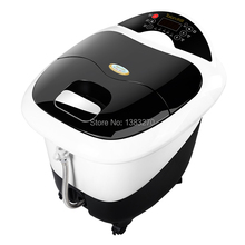 Fully-automatic electric heated foot tub massage foot bath health care products 2015 as seen on tv