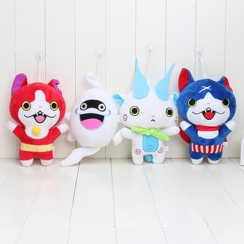 4 Styles 20cm Japan Yokai Watch Red Cat KOMA SAN Nyan Whisper Youkai Watch Plush Toy Soft Doll 1