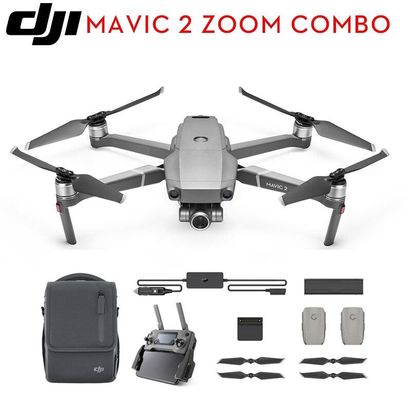 DJI Mavic 2 Pro/Mavic 2 Zoom/mouche plus Combo/Hasselblad caméra zoom objectif Drone RC quadrirotor avec caméra 4K HD Drone en Stock-in Drones à caméra from Electronique    2