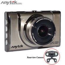 Original A100H Dual Cameras DVR with NTK96655 CPU 1080P with Rear View 720P Camera Car Video Recorder