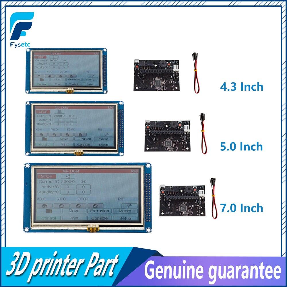 1PC 4 3 5 7 Colour Touch Screen PanelDue Controller For DuetWifi Advanced 32 Bit Electronics