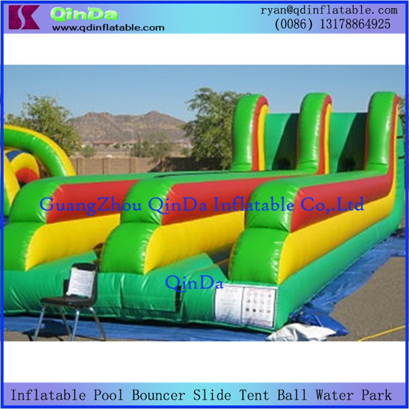 Inflatable Bungee Run1
