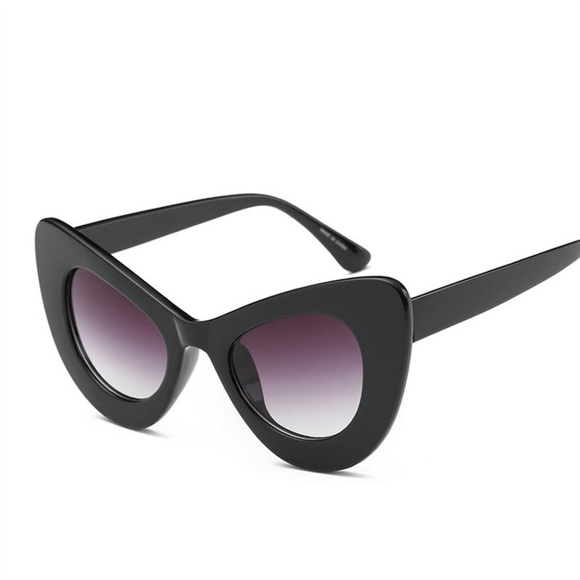 YOOSKE Clout Goggles Sunglasses Women Cat Eye NIRVANA Kurt Cobain Glasses Butterfly Frame Design Sunglass UV400 Sun Glasses