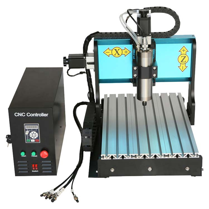 JFT Industrial 3D CNC Engraving Machine 3040 1500W 3 Axis With USB 2.0 Port Router Machine Drilling Milling For Stone Iron Steel cnc 5axis a aixs rotary axis t chuck type for cnc router cnc milling machine best quality
