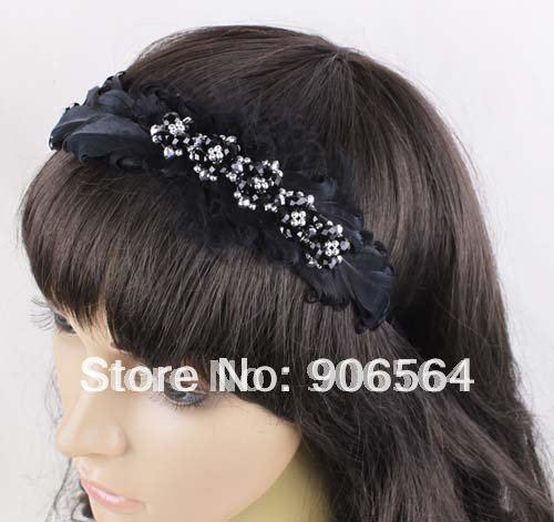 Осенняя резинка для волос с перьями, весенние аксессуары для волос,, опт и розница, 3 цвета на выбор, 3 шт./партия