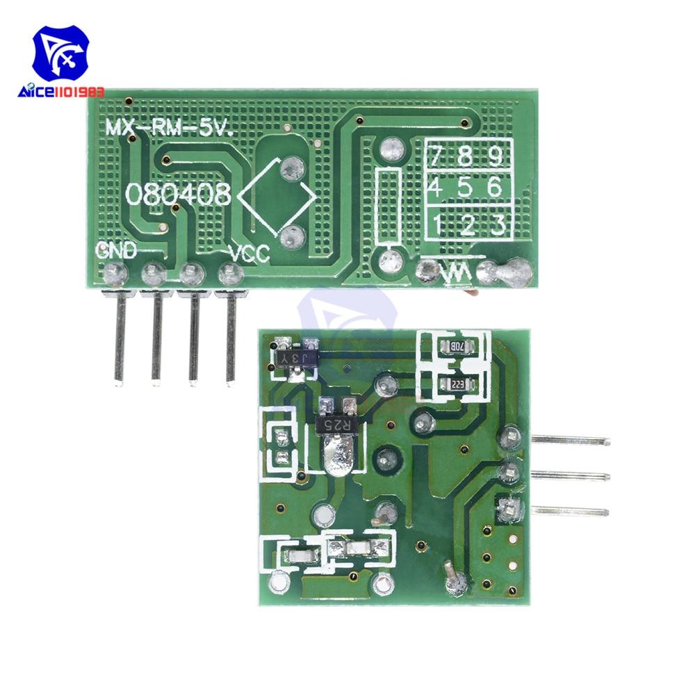 433MHz Wireless Remote Control Switch Module Transceiver Receiver Transmitter