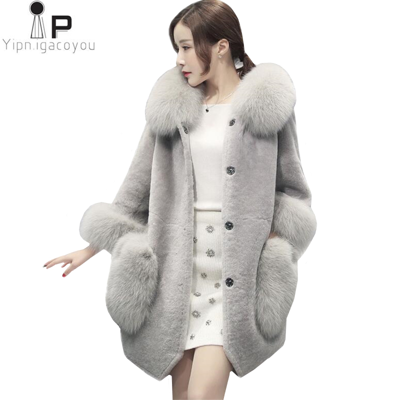 Parkas Winter Coat Women Black Red Plus Size Hooded Parka 2018 Korean New Office Temperament Ladies Long Thick Warmth Slim Jacket Cx220 Jackets & Coats