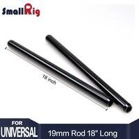SmallRig 2 stücke Schwarz 19mm Stangen 18