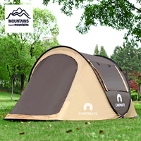 2 3 People Pop up Tent Waterproof Camping Tent Family Travel