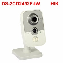 5mp wifi cube ip camera DS 2CD2452F IW Audio POE PIR alarm cctv security camera smart