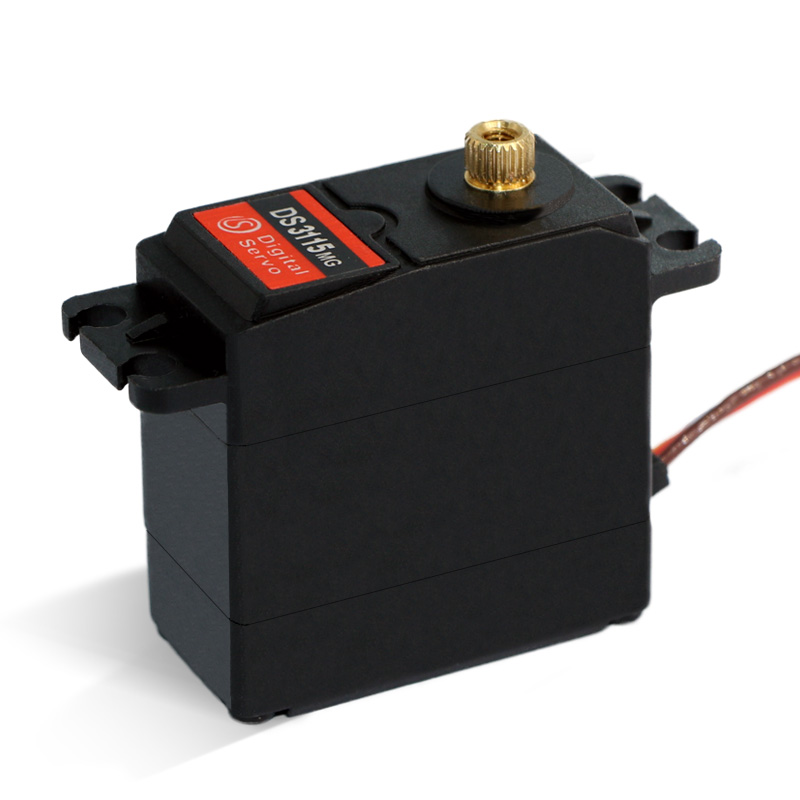 Image 2 - 1X free shipment Original factory High Torque Servo 15kg DS3115 Servo Metal gear servo For rc car boat plane-in Parts & Accessories from Toys & Hobbies