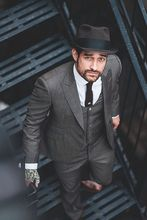 Latest Coat Pant Designs Grey Men Suits Slim Fit 3 Piece Tuxedo Custom Groom Blazer Prom