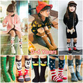 Spring Autumn Winter Girls Socks Knee High Totoro Socks Cartoon Cute Weather Pattern Baby Socks Cotton Fox Socks Kids 0-6 Years