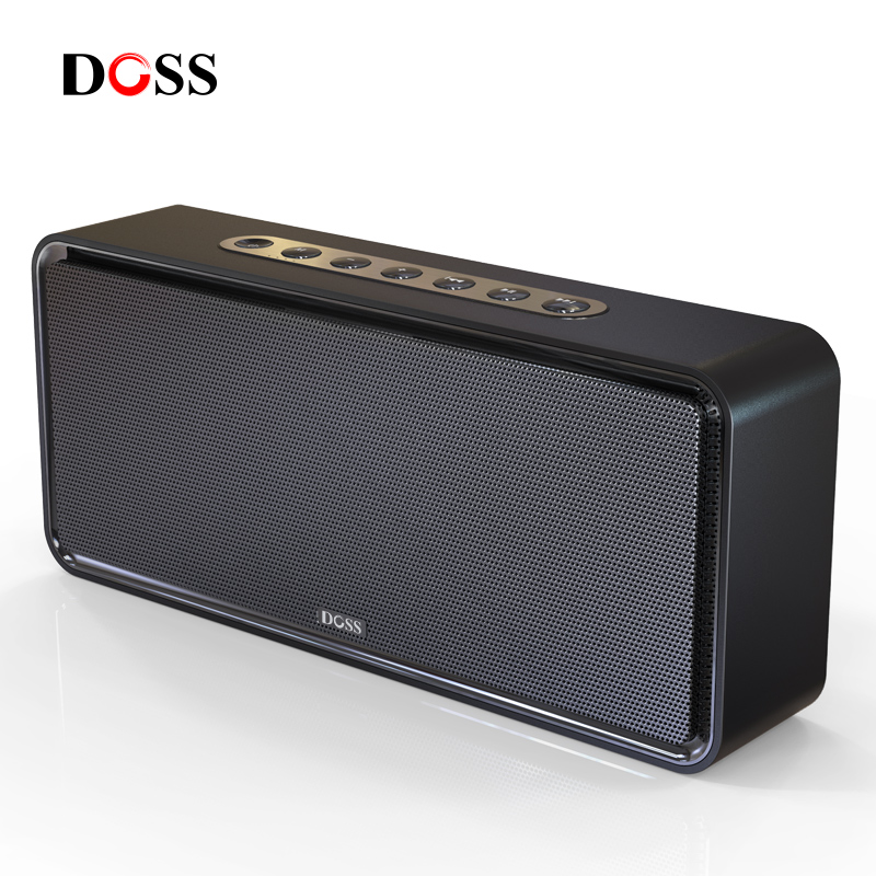 DOSS SoundBox XL Portable Wireless Bluetooth Speaker Dual-Driver 3D Stereo Bold Bass Subwoofer Music Surround Support TF AUX USB