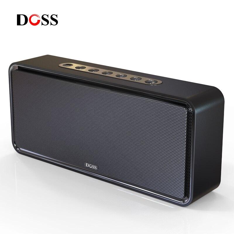 DOSS SoundBox XL Portable Wireless Bluetooth Speaker Dual-Driver 3D Stereo Bold Bass Subwoofer Music Surround Support TF AUX USB