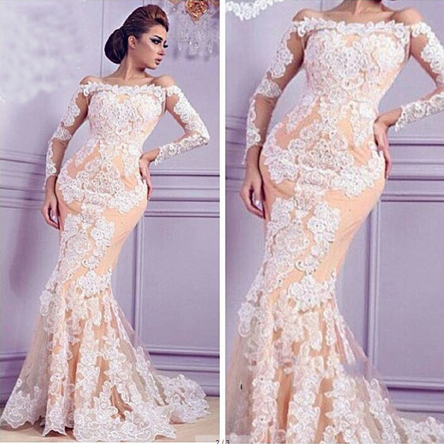 Western Lace Evening Dresses
