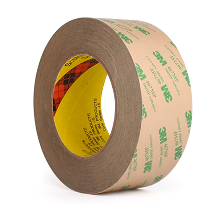<font><b>3M</b></font> 467MP <font><b>200MP</b></font> Hi-Performance Double Adhesive Transfer Tapes For Graphic Attachment Membrane Switch Application 55meter image