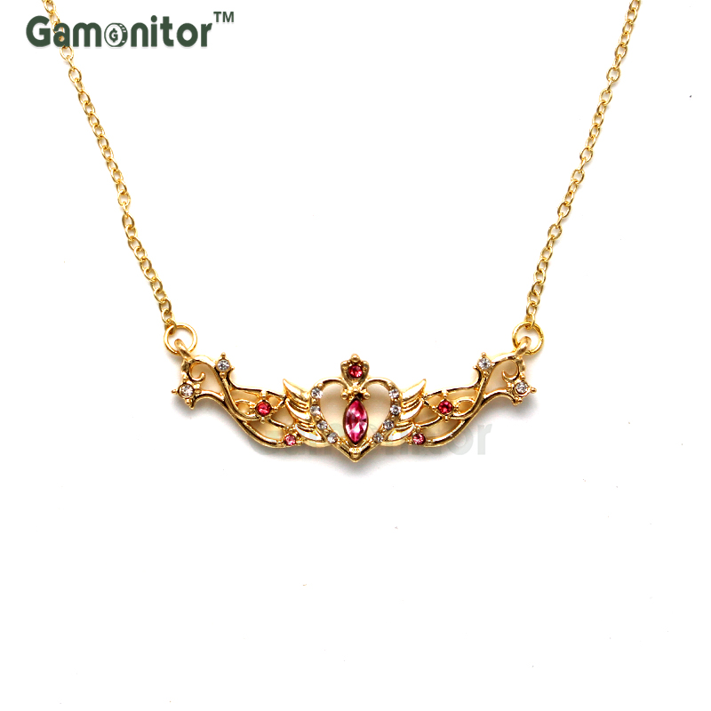 Buy princess necklace for girls gold and get free shipping on AliExpress.com 0c3d2a07f910