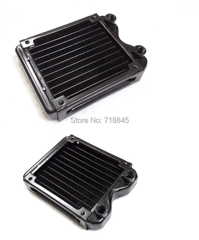 New Black 120p pure aluminum water discharge heat exchanger computer water cooling radiator neil barrett футболка