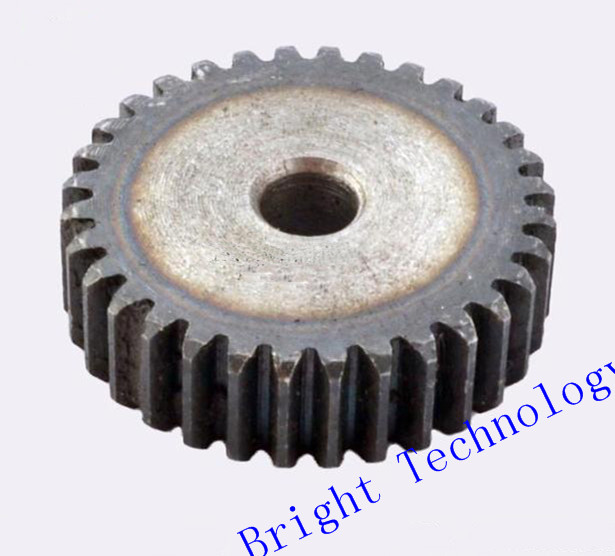Spur Gear pinion Mod 2 M=2 20/21/22/23/24T Right Teeth 45# steel positive gear CNC gear rack transmission motor gears