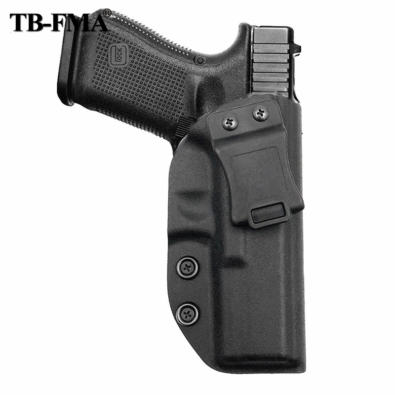 TB-FMA Tactical Holster Glock Holster Right Hand Concealed Carry Kydex Inside Waistband Holster For G17 G22 G31 Free Sjipping