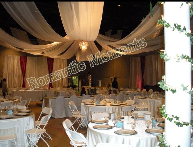 10 Stucke Hochzeit Decke Tuch Baldachin Vorhange Fur Dekoration