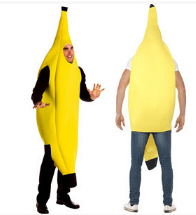 free shipping Sexy Halloween costumes for banana fruit bar wedding Carnival singles adult dance party