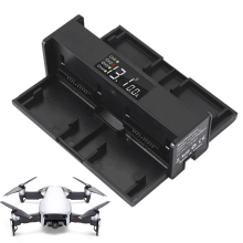 цена на 4 in 1 Fast Charger for DJI Mavic Air Smart Charging Hub Portable Mini Folding Charger Drone Flight Battery Manager with Display
