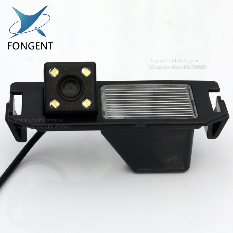 Highest night vision 4 LED color CCD Car Reverse Rear View backup font b Camera b