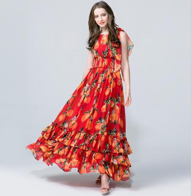 maxi jurk zomer