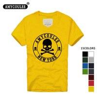 Funny Men T Shirt Fashion 2016 Skull 3d T Shirt Print Tees Men Hip Hop Men
