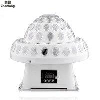 20 W Kryształ Magic Ball LED Światła Etapie Disco Światła Laserowego Światła Laserowego Światła I Zabawy DMX Sound Control Lumiere Obracanie sprzęt