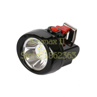 KL2.5LM(A) 1W Li ion Led Miner's Lamp with Car Charger