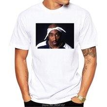 Rapero 2pac Tupac T camisa de manga corta los hombres novedad diseño Tops  genial camiseta manga corta Camiseta Hip Hop camiseta . e0d50ed9f5d