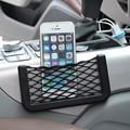 Saco de corda armazenamento de rede veículo carro Automotive Interior bolso com Adversive organizador Net Pockets líquidas malha Net tamanho 8 x 15 cm