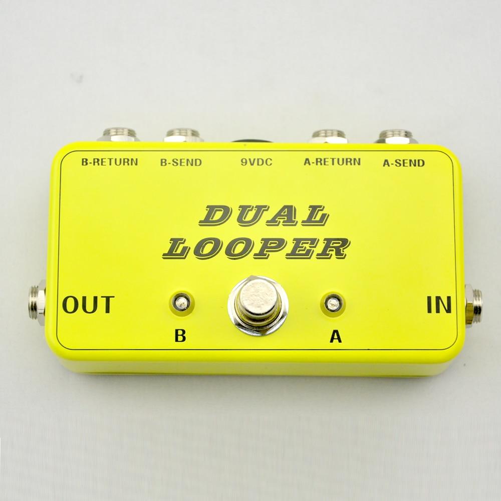 Nieuw True-Bypass Looper effectpedaal Gitaareffect Pedal Looper - Muziekinstrumenten - Foto 2