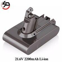 Aspirador de PÓ para Dyson Substituição DA Bateria Dc58 Dc59 Dc61 Dc62 Animal V6 965874-02 Li-ion 21.6 V 2.2ah Recarregável