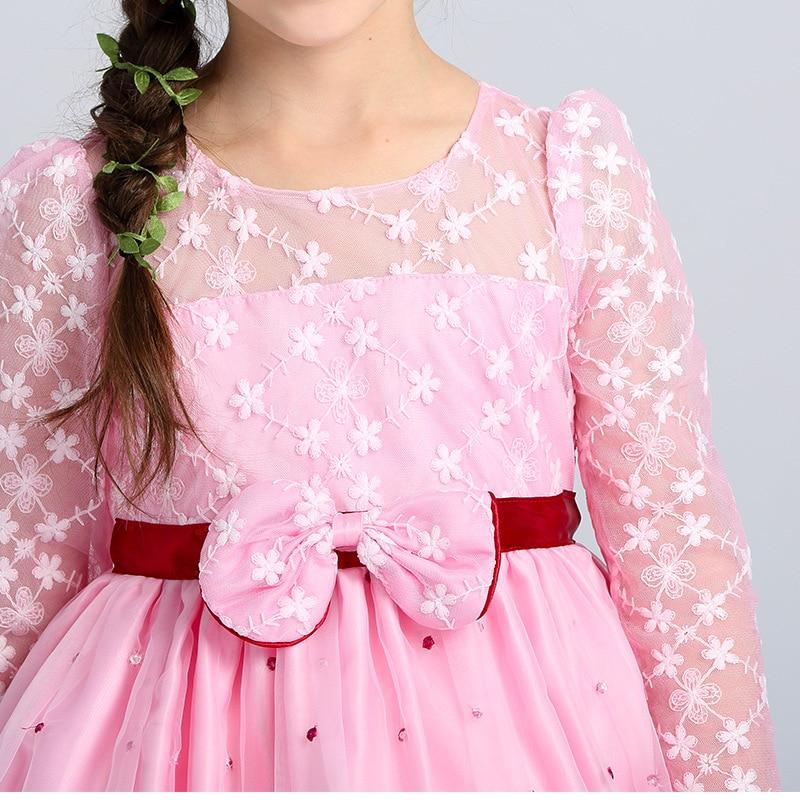Comprar ahora Princesa Encaje Rosa Vestidos 2017 primavera niños ...