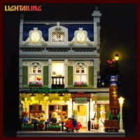 LED Light Up Kit For Compatible With Lego 10243 Lepin 15010 Creator Expert City Street Parisian