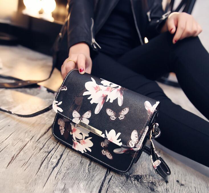 Новая мода спрей Нарцисс, квадратный мешок, набор спрей, одиночный мешок плеча, наклонные женская сумка. Брандис