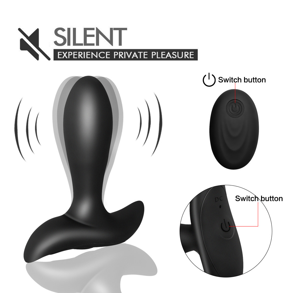 Prostate Vibrator 10 Modes Wireless Remote Control Anal Vibrator Butt plug Prostate Orgasm Massager Anal Sex Toys For Man 6