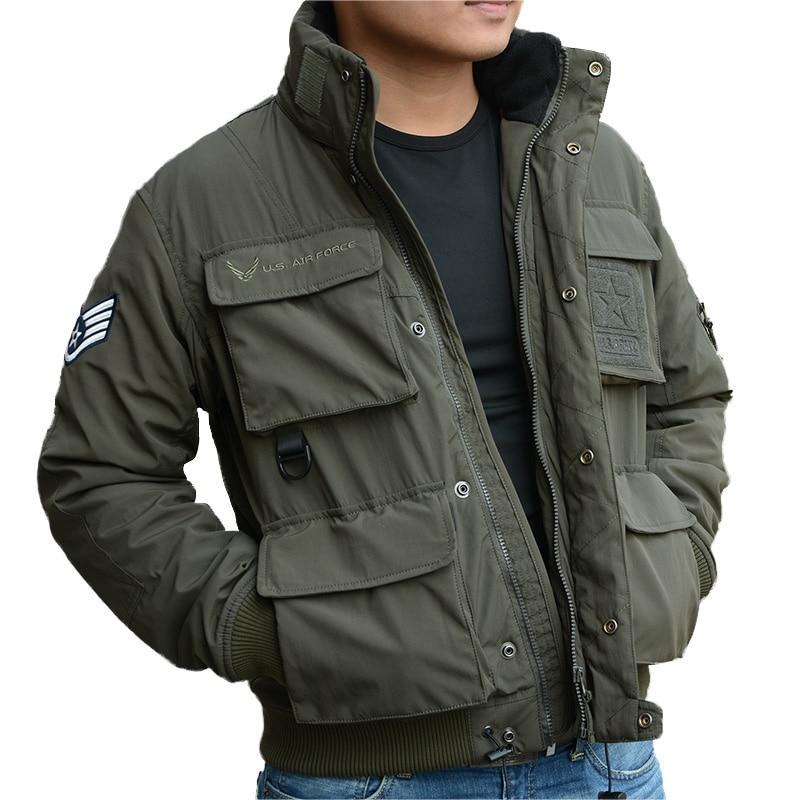 New Men's Military Coat  Flight Jaket Outdoor Camouflage Coat  726-053