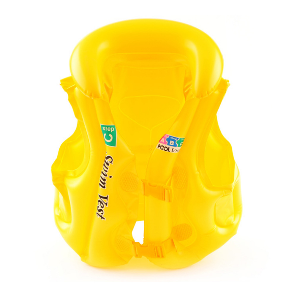 Baby Swimming Ring Floating Board Inflatable Swim Vest Children Swim Float Air Vest Kids Safety Training Pool Toys Life Jackets
