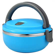 Modern Stainless Steel Bento Food Container for Kids Thermal Food Container Food Box Lunchbox Portable 2016 New