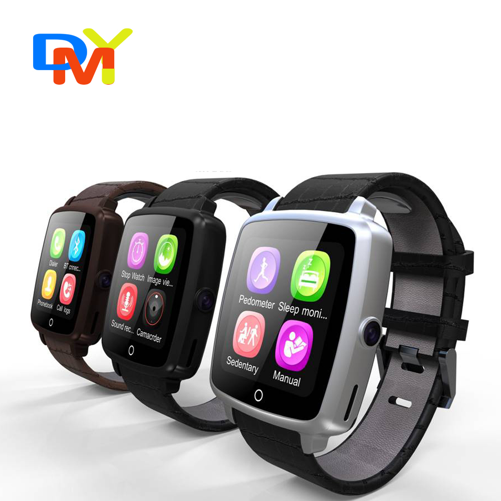 2016 Newest Smart Watch U 11C Clock Sync Notifier Support Sim Card Bluetooth for Apple iphone