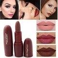 Miss rose terciopelo lápiz labial mate 7 colores impermeable vampiro marrón belleza labios rojos del bebé batom maquillaje de labios nude ms058