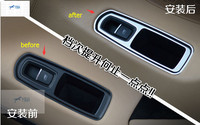 New For Porsce Panamera 2014 Macan Metal Window Lift Switch Mirror Control Button Panel Cover Trim