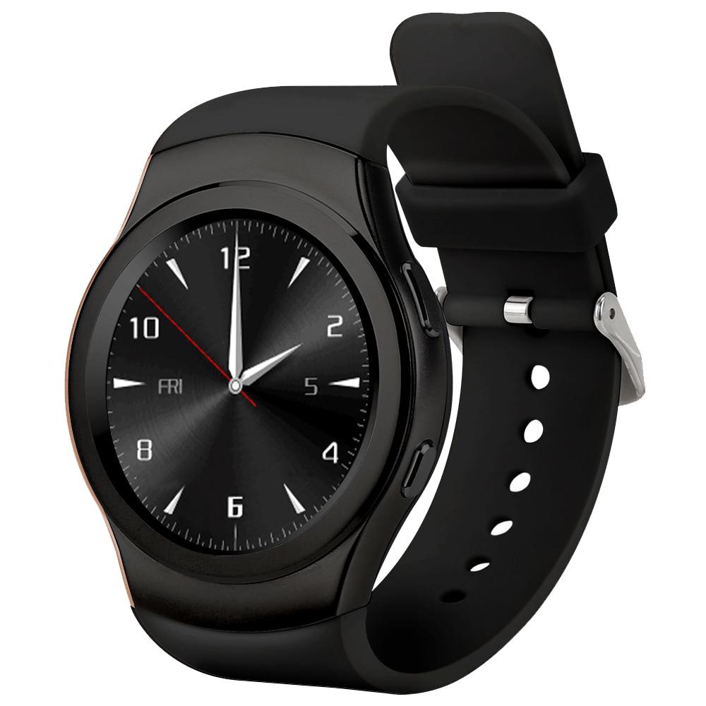 imágenes para No. 1 G3 Reloj Inteligente S2 tarjeta Sim card TF Bluethooth siri monitor de Ritmo Cardíaco Reloj Smartwatch G3 para artes de samsung s2 s3 moto360