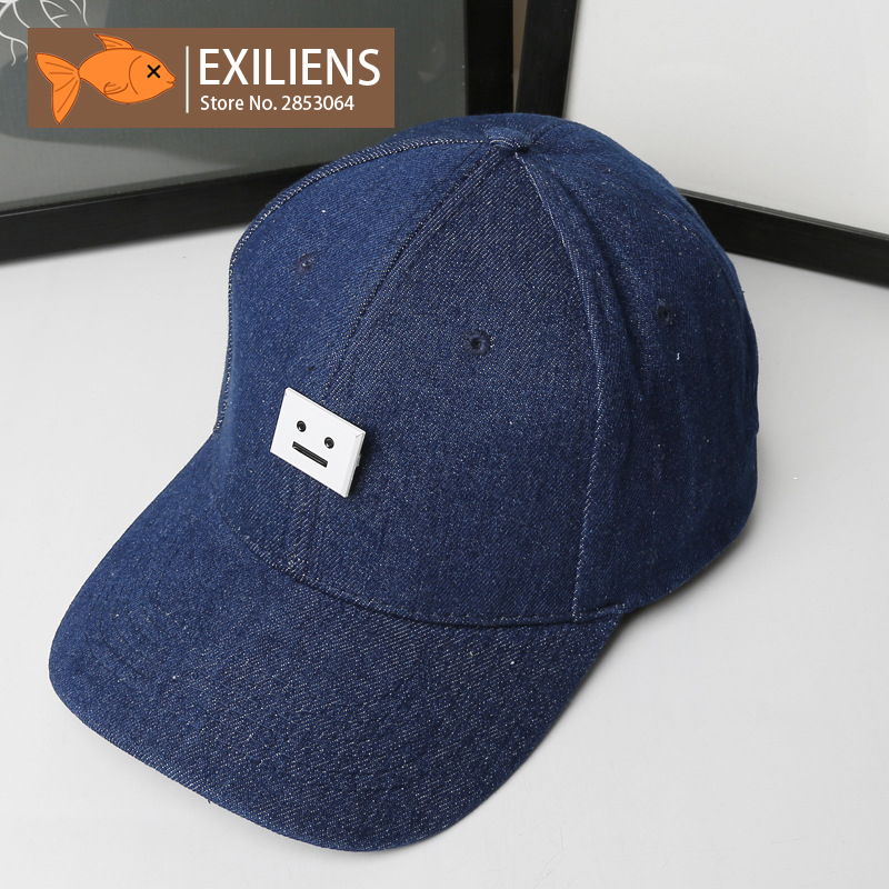 [EXILIENS] 2017 New Fashion Brand Baseball Cap Cotton Face Blue Snapback Caps Strapback Hip-hop Hats For Men Women Fitted Hat china glaze лак для ногтей фантазия флип флоп china glaze flip flop fantasy 81364 9 6 мл