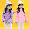 3-7 yrs Girls Winter Coat Warm Cotton Padded Hooded Kids Winter jacket girls clothes Children clothing Parkas girl outerwear